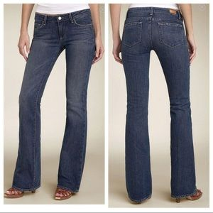 PAIGE Blue Bootcut Hollywood Hills Jeans
